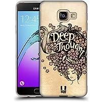 Head Case Designs Profondément Dans Pensée Introspection Étui Coque en Gel molle pour Samsung Galaxy A3 (2016)