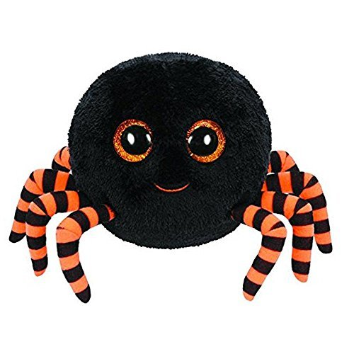 Beanie Boo Halloween Spider -  Crawly the Spider (Black) - 15cm 6""