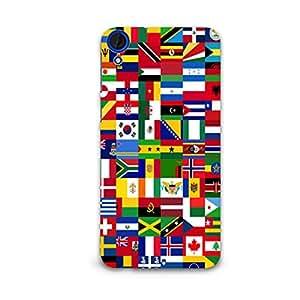 STYLR Premium Designer Mobile Protective Back Hard Case for HTC 820 | HTC820-281