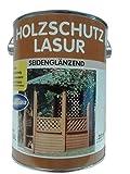 Wilckens Holzschutzlasur für außen wetterbeständig Seidenglenzänd Farbton Wählbar 2,5 liter, Farbe:Palisander