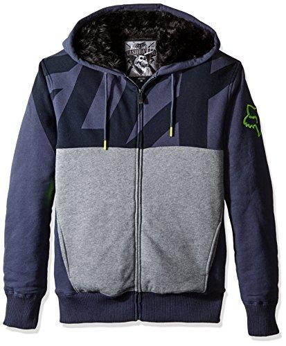 Fox Zip Hoody Kaos Sasquatch Schwarz Grau