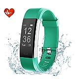 EFOSHM Fitness Armband Wasserdicht Schrittzähler Fitness Tracker mit Pulsmesser Sport Uhr Pulsuhren Health Watch fur Android IOS Handy