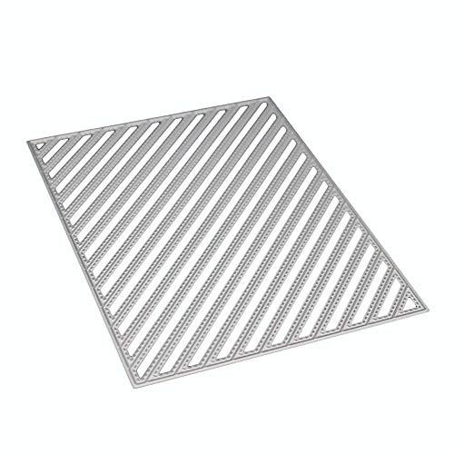 Schablone für Basteln Scrapbooking Prägung Album Metallschneideisen-Schablonen-Rahmen für DIY Fotoalbum Dekorative Papierkarten von fiosoji -