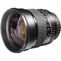 Walimex Pro 85mm 1:1,4 DSLR-Objektiv (Filtergewinde 72mm, IF, AS und ED-Linsen) für Olympus Four Thirds Objektivbajonett schwarz