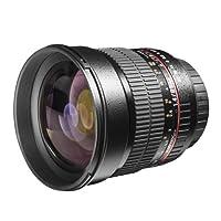 Walimex 15796 - Objetivo para Canon (distancia focal fija 85mm, apertura...