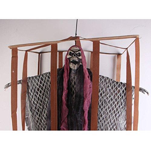 Halloween Cage Ghost Gefangener Ghost Horror Gefängnis Ghost Tricky Toys Bar Party Party Szene Stützen,A1