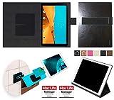 reboon Hülle für LG G Pad II 10.1 Tasche Cover Case Bumper | in Schwarz Leder | Testsieger