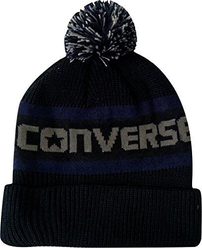 Converse -  Cappellino da baseball  - Uomo Black/Grey Taglia unica