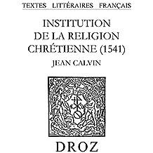 Institution de la religion chrétienne (1541)