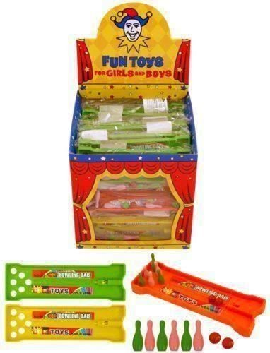 Mini Bowling Alley Skittles Games (Box Of 24)