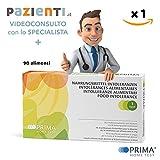 PRIMA Test Intolleranze Alimentari (90 alimenti) + Videoconsulenza 15 min