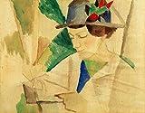 Kunstdruck / Poster: August Macke