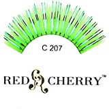 Red Cherry Color Eyelashes (Green With Tinsel) C207 by Red Cherry