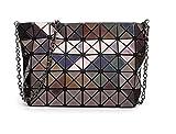 Hologramm Tasche Frauen geometrische Handtasche Crossbody-tasche Hologramm Silber Tasche