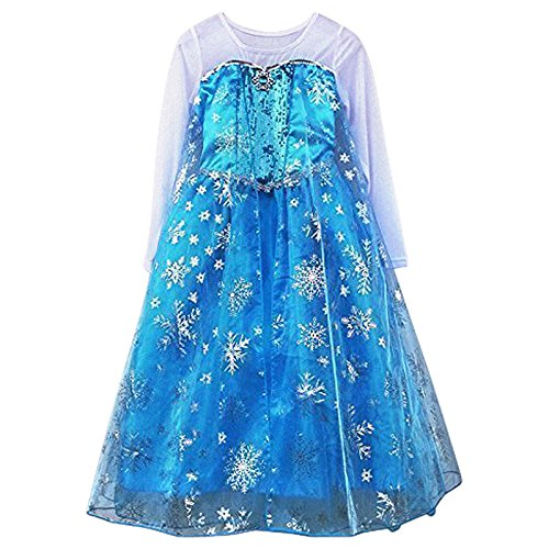 Imagen de live it style it de princesa vestido cosplay disfraz fiesta frozen anna elsa inspirado en alternativa