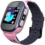 Smartwatch voor kinderen LBS Tracker Smartwatch met zaklampen Anti-verloren spraakchat voor jongens Meisjes Verjaardagscadeau