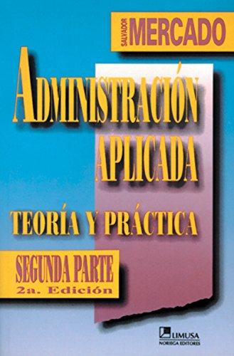 Administracion aplicada/Applied Management