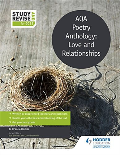Study and Revise: AQA Poetry Anthology: Love and Relationships (Study & Revise)