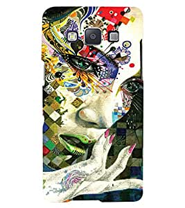 PRINTSWAG GIRL ART Designer Back Cover Case for SAMSUNG GALAXY A7