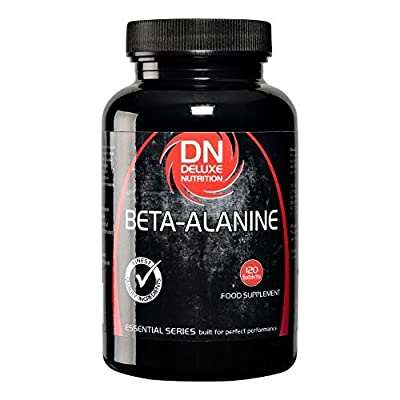 Deluxe Nutrition 800mg Beta Alanine Tablets - Pack of 120