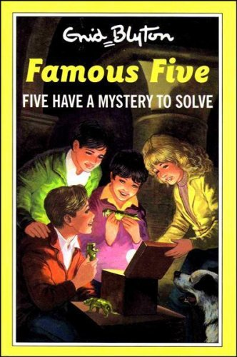 Enid Blyton's Five have a mystery to solve
