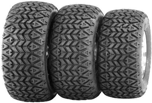 ITP All Trail XLT Golf Cart Tire - Front/Rear - 22x10x10 , Position: Front/Rear, Tire Ply: 4, Rim Size: 10, Tire Size: 22x10x10, Tire Type: ATV/UTV, Tire Application: General 5000606 by ITP