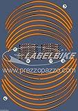 Streifen Klebstoff Kompatibel für Motorrad KTM 1090-1190-1290 R Adventure rad 18' 21'