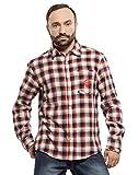 Mavango Checkered Cotton Casual Multicol...