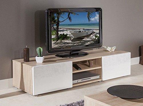 Opiniones estructura atlantic mueble para tv color roble - Muebles banak opiniones ...