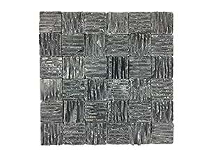naturstein mosaik aus marmor als wandstein steinwand. Black Bedroom Furniture Sets. Home Design Ideas