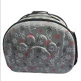 Traspirante Pieghevole Outdoor Pet Bag per Cane Gatto Comfort Viaggio Medio Formato Pet Carrier (Disponibile in Una varietà di Colori) Dimensioni: 43cm * 29cm * 35cm,Gray