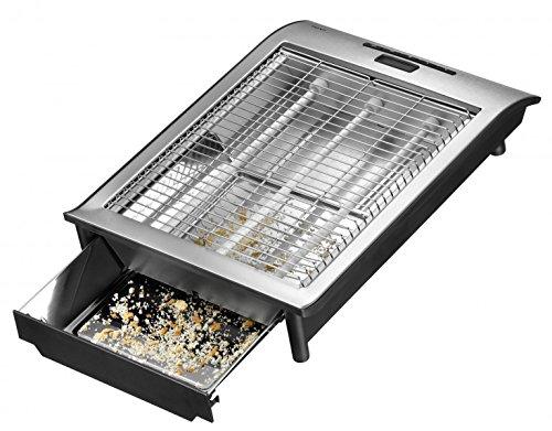 Exido-12140040-Flachtoaster-mit-TimerDisplay-Brtchen-Toaster-700-Watt