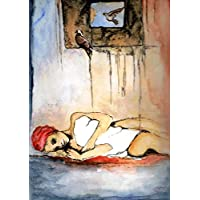 Ein Originalbild, handgemalt und signiert aus der Serie Expressive Frauen