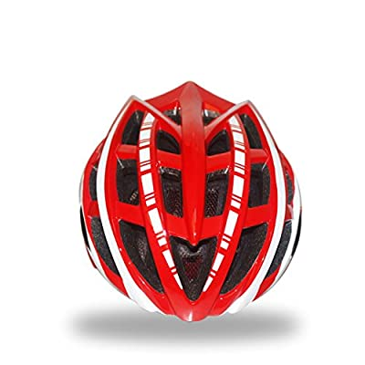 Matry-046 245g Ultra Light Weight -Adjustable Sport Cycling Helmet Bike Bicycle Helmets for Road & Mountain Biking,Motorcycle for Adult Men & Women,Youth - Racing,Safety Protection Helmet with 32 Cooling Vents from Zidz