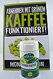Grüner Kaffee Extrakt • zum schnell Abnehmen • mit Vitamin C und dem Spurenelement Chrom zur Fettverbrennung • 60 Kapseln - erobern Sie sich 100% natürlich Ihre Traumfigur zurück. Bild 3