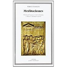 Meditaciones (Letras Universales / Universal Writings) (Spanish Edition) by Marco Aurelio (2001) Paperback
