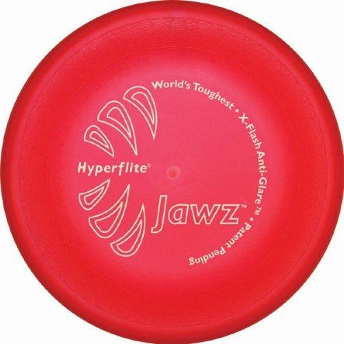 Hyperflite K10 Jawz Hunde Frisbee ROT X-FLASH ANTI GLANZ -