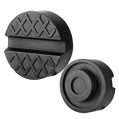 Preisvergleich Produktbild CrzKo Wagenheber Gummiauflage, Jack Pad Gummipuffer für Wagenheber und Hebebühnen 65 X 25mm Notwendigkeiten für Reifenwechsel