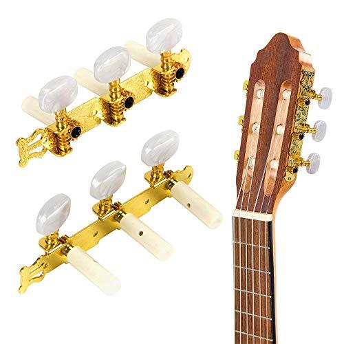 Rosepoem Gitarren-Stimmwirbel - Gold Klassische Gitarrenschaft-Mechaniken