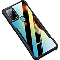 Amozo Shockproof Transparent Bumper 360 Degree Camera Protection Case Cover for Samsung Galaxy M31 / F41 (Shock Proof…