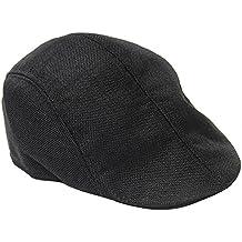 TININNA Uomini e Donne Autunno Moda Confortevole Traspirante Coppola  Cappello di Lino Beret Hat Berretto 4df009b17b22