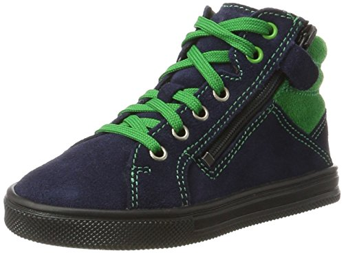Richter Kinderschuhe Jungen Ola Derbys, Blau (Atlantic/Grass), 39 EU