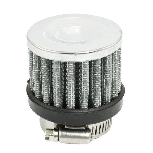 sourcingmap® 25mm - 38mm Schlauch Schelle Konischer Netzgewebe Auto Luftfilter Silber Ton 25mm Einlass Dia