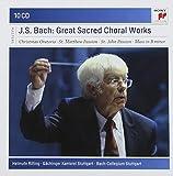 Bach : Grandes oeuvres chorales sacrées(Coffret 10 CD)