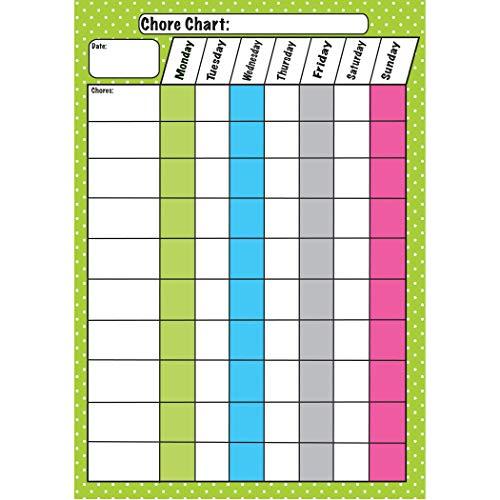 Die Cut Magnets Chore Chart
