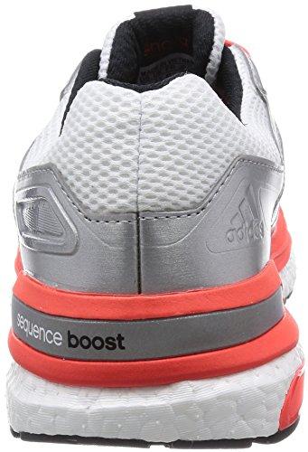 Adidas - Supernova Sequence Boost, Chaussures De Course À Pied Core Black / Ftwr White / Flash Orange
