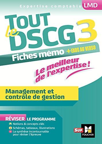 Tout le DSCG 3 - Management et contrle de gestion