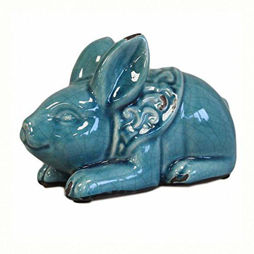 Bunty Bunny - Teal (Bunny Trim)