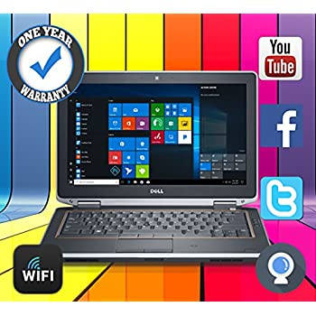 DELL LAPTOP 1TB 8GB WIN 10 POWERFUL CORE i5 REFURBISHED LATITUDE WEBCAM DVD HDMI - MAXIMUM COMPUTERS