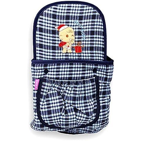 Cinghia di modo di griglia di stile britannico del bambino del bambino multifunzionale bambino Sling regolabile